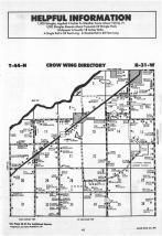Map Image 023, Crow Wing County 1988